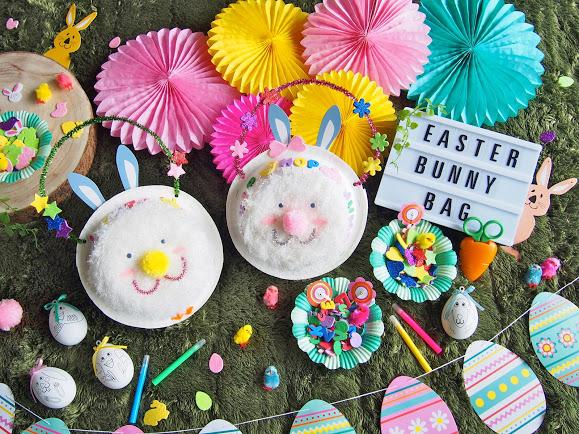 バニーバッグを作ってエッグハントを楽しもう!
